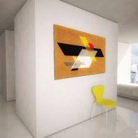 Duurzame CPO zelfbouw loft appartementen (interieur beeld appartement slaapgedeelte) - Loft casco appartementen | Eustace Architectuur