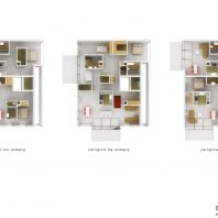 Duurzame CPO zelfbouw loft appartementen (voorbeeld plattegronden) - Loft casco appartementen | Eustace Architectuur