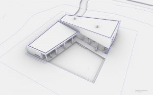 Komorebi vrijstaande gezinswoning | Eustace Architecture | Exterieur 3D 01