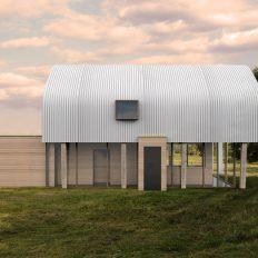 Onderdak - vrijstaande woning - comp3 voorgevel - Jos Blom architect