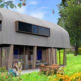 Onderdak - vrijstaande woning - comp4 artist impression - Jos Blom architect